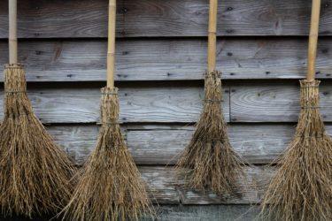 落ち葉掃除に便利な道具。効率的に落ち葉を集める方法